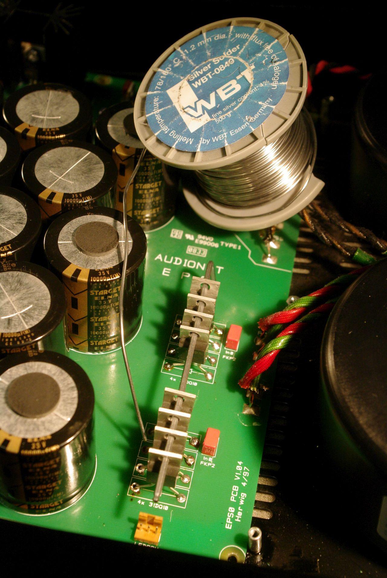 Audionet EPS Gleichrichter